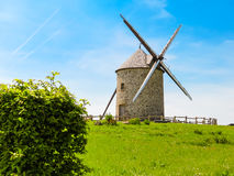 Old Windmill in Normandy, France Stock Images