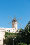 Old windmill in Palma Royalty Free Stock Photography