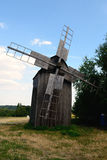 Old windmill in Pirogov museum Royalty Free Stock Photo