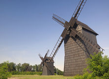 Old windmill in Poland. Royalty Free Stock Image