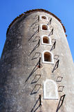 Old Windmill in Portugal Stock Image