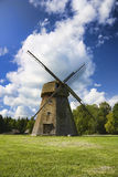 Old windmill, a rural landscape Royalty Free Stock Photos