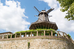 Old Windmill in Sanssouci Park, Potsdam, Germany, Europe Stock Photos