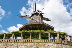 Old Windmill in Sanssouci Park, Potsdam, Germany, Europe Stock Photography