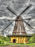 Old windmill shoot in HDR Royalty Free Stock Image