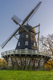 Old windmill. In Slottsradgarden park in the city of Malmo, Sweden Stock Photo