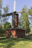 Old windmill. In southern Finland stock photos