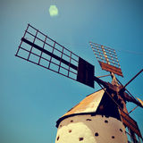 Old windmill in Spain Stock Images