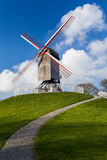Old Windmill St. Janshuismolen. Stock Photo