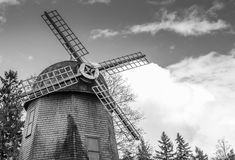 Old windmill. An old windmill stands the test of time Royalty Free Stock Photos