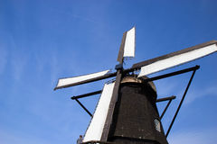 Old windmill in Swedish countrycide, Province of Skane. Old windmill in Swedish countrycide in province of Skane Stock Photos