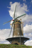 Old windmill in the town of Gorinchem. Stock Photo