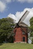 Windmill - Soderkoping - Sweden. An old windmill in the town of Soderkoping in Ostergotland County in Sweden Royalty Free Stock Photos