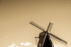The Old windmill. In varberg sweden Royalty Free Stock Photo