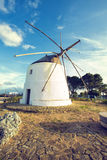 Old windmill in Vejer de la Frontera Royalty Free Stock Photo
