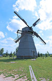 Old windmill in the village Stock Photography