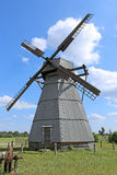 Old windmill in the village Royalty Free Stock Images
