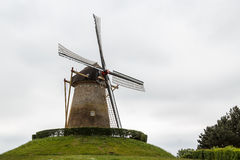 Old windmill in Wijchen town. Netherlands Stock Photography