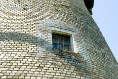 Old windmill window Royalty Free Stock Photo
