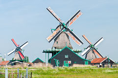 Old Windmills Royalty Free Stock Photo