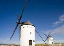 Old Windmills 2 Stock Photos