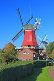 Old Windmills Stock Images