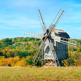 Old windmills Stock Photography
