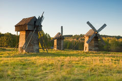 Old windmills Royalty Free Stock Photography