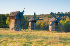 Old windmills Stock Photos