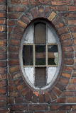 Old window. In the slums Stock Image