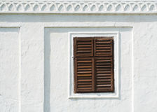 Old window. From a monastery Royalty Free Stock Image