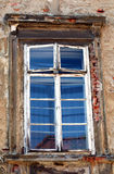 Old window. Old house window in  Zagreb Stock Image