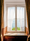 Old window. At a hotel in lindau/germany Royalty Free Stock Images