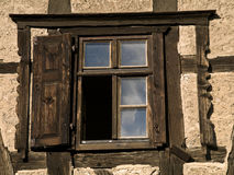 Old window. Of a bavarian baroque castle Royalty Free Stock Image