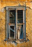 Old Window. Old timber window that has seen better days Royalty Free Stock Image