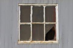 Old window. Old broken window royalty free stock image