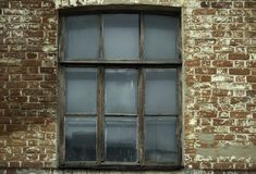 Old window. Vintage window Royalty Free Stock Images