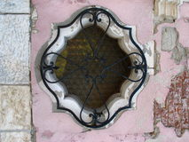 Old window. In Venice royalty free stock images