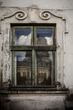 Old window of the ancient house Stock Image