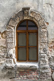 Old window on ancient wall Stock Image