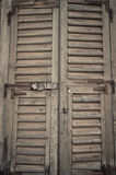 Old window background grunge wall texture Stock Photography
