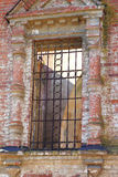 Old window with bars Royalty Free Stock Images