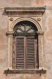 Old window on a building Royalty Free Stock Image