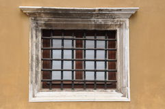 Old window on a building Stock Photo