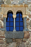 Old window of the city of Avila, Castile, Spain Royalty Free Stock Images