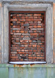 Old window, close Royalty Free Stock Photos