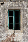 Old window closed Stock Image
