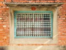 Old window closeup Royalty Free Stock Photos