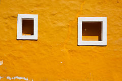 Old window in Coyoacan Royalty Free Stock Photo