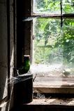 Old window - detail Royalty Free Stock Photography